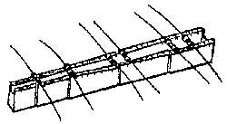 Abbiegevorrichtung f�r Bauteile zum Beispiel Wiederst�nde usw. 668996
