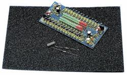 IC-Steckschaum 200x300x5mm elektrisch leitender Schaumstoff 885277