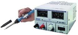Labornetzger�t AFX 1502C 230V/50Hz + L�tkolben 230V~/25W 688242