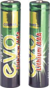 AAA-Micro Evo Lithium Batterie, 2 St�ck 664102