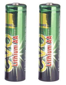 AA-Mignon evoLithium Batterie 2 er Karte 664086