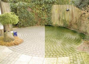 1 Liter Terrassen Reinigung, entfernt gr�ne Bel�ge 781575