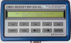 OBD Booster XXL - professionelles Werkzeug z. Fehlerdiagnose VAG Mo 140905
