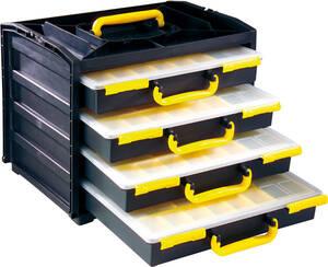 System Sortimentskasten mit 4 Schubladen